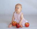 Lila z jabłkami